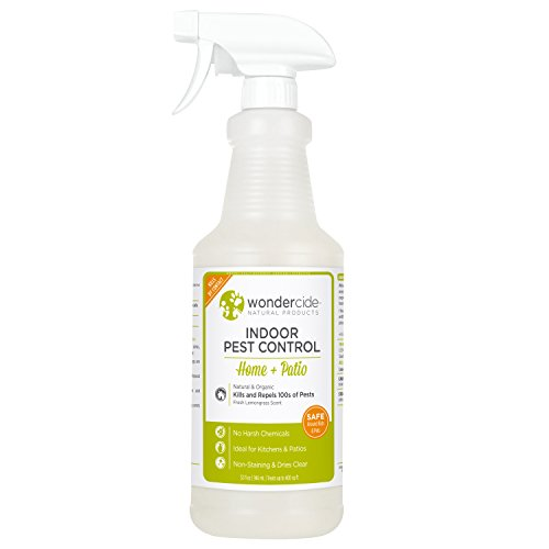 Wondercide Natural Indoor Pest Control Home and Patio Spray 32 oz Lemongrass (Living Room Furniture Sustainable)