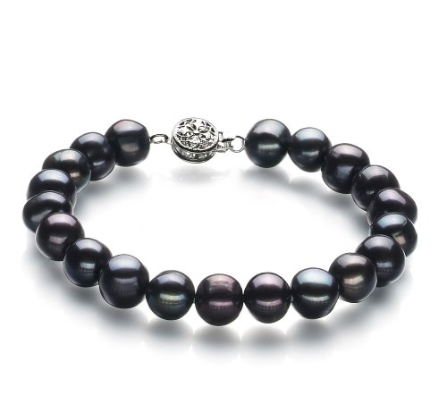 black-8-9mm-a-quality-freshwater-cultured-pearl-bracelet-75-in-length