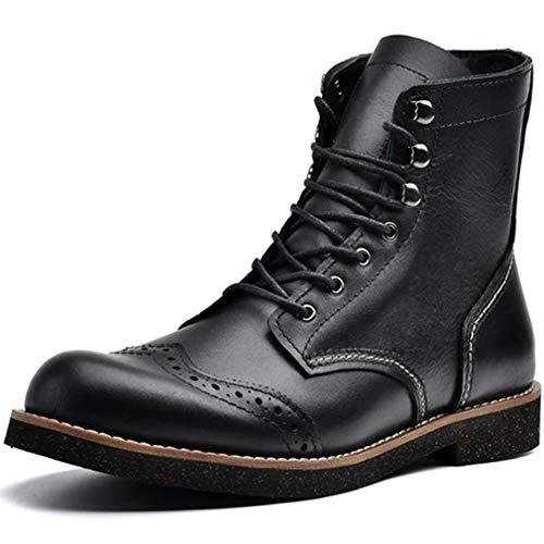 メンズ ロングブーツ 長靴 マウンテンブーツ ライダースブーツ カジュアル 春秋冬 黒 ブラック 大きいサイズ ジョッキーブーツ 革靴 コスプレ ロック系 モード系 ブラック シューズ 中ボア/ボアなし