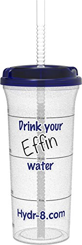 Hydr-8 32oz Water Bottle Drink your Effin Water