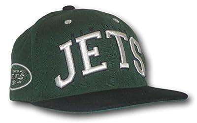 Fan Apparel New York Jets 3D Flat Bill Snap Back Adjustable Hat Lid Cap by Fan Apparel