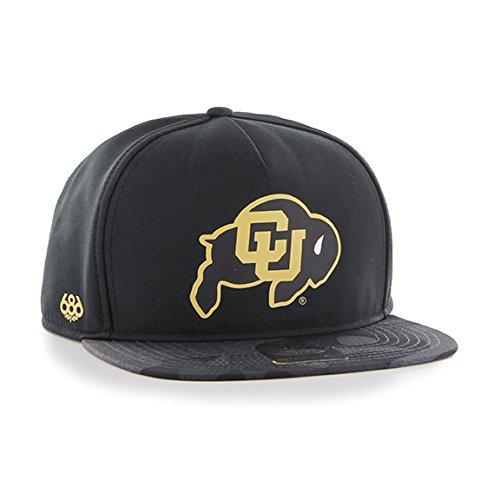 686x47 NCAA Colorado Buffaloes Crispy Snapback Cap, One Size