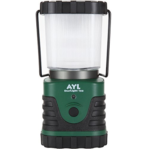 AYL StarLight 700 - Water Resistant - Shock Proof - Long Lasting Up To 6 DAYS Straight - 700 Lumens Ultra Bright LED Lantern - Perfect Lantern for Hiking, Camping, Emergencies, Hurricanes, Outages by AYL