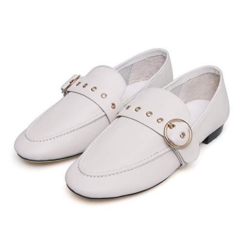 AdeeSu Blanc Compensées Femme SDC06044 Sandales EU 5 36 Blanc XRg7RrEn