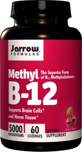 Jarrow Formulas - Methyl B-12 5000 Mcg, 5000 mcg, 60 lozenges