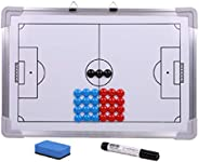 LIOOBO 1 Set Soccer Coaching Board Training Coaching Kit Training Aid Whiteboard Clipboard Coach Equipment