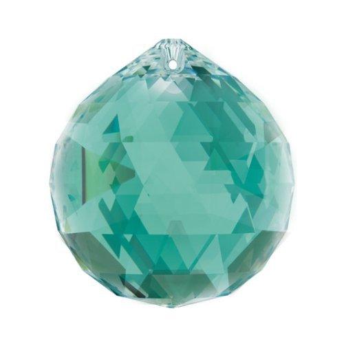 Swarovski crystal 30mm Emerald Green Faceted Ball Prism Amazing Clarity & Shine by Swarovski (Image #3)