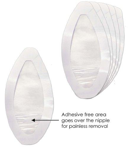 Las novias estilo puro me recogen cinta de levantamiento de senos impermeable a prueba de sudor, transparente, talla única
