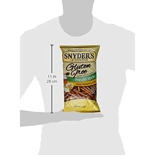 Snyder's of Hanover Gluten Free All Natural Pretzel Honey Mustard and Onion Sticks 8oz [2 Pack]