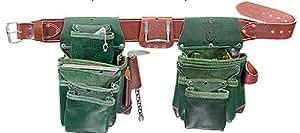 Occidental Leather 5605L Green Lights Leather 6 Bag Set (L)