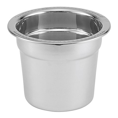 Vollrath 46088 Stainless Steel Inset for 46090 7 Qt. New York, New York Soup (New York Chafer)