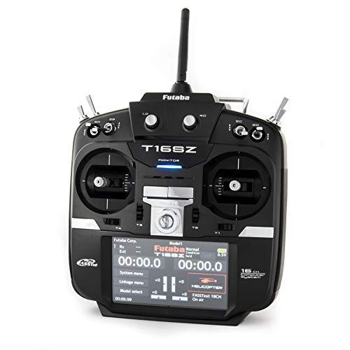 Futaba 01004356-3 16Szh 2.4GHz FASST Heli Spec Radio System with R7008SB Receiver