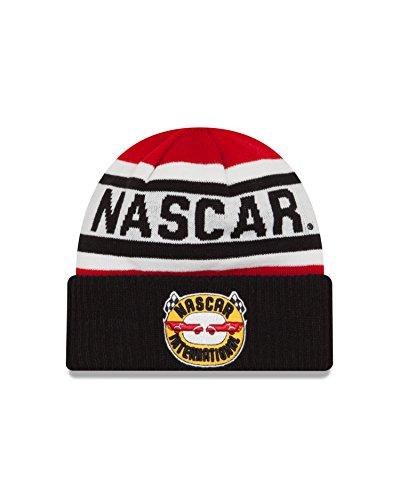 nascar-nascar-generic-logo-biggest-fan-20-knit-beanie-one-size-black