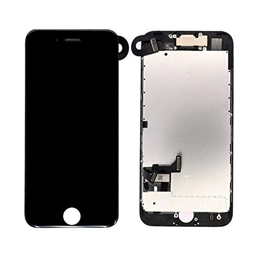 Screen Replacement Compatible LCD Display Digitizer Frame Assembly Full Repair Kit, with Repair Tools and Flowchart