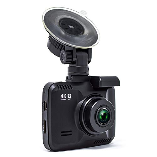 "Rove R2-4K Dash Cam Built-in WiFi and GPS Car Dashboard Camera Recorder with UHD 2160P, 2.4"" LCD, 150° Wide Angle, Night Vision"