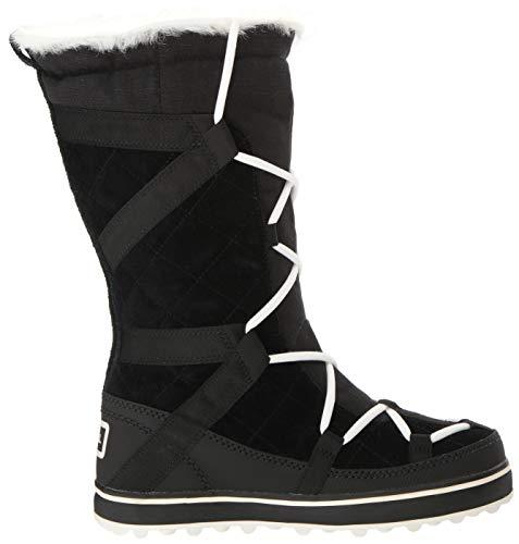 Glacy Botas 012 De Para Sorel Negro Explorer Nieve Mujer black HxwU1p6qdU