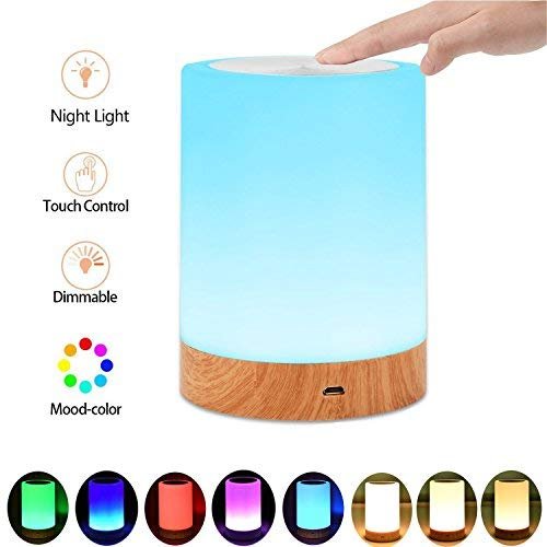 Caxmtu Led Night Light Touch Lampe Nachttisch Lampe Fur Kinder