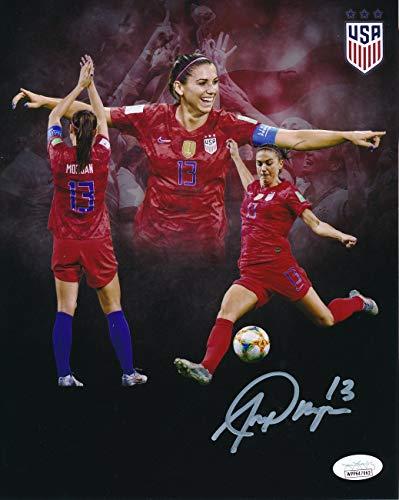 Alex Morgan US Women's Soccer Signed/Autographed 8x10 Photo JSA 146916
