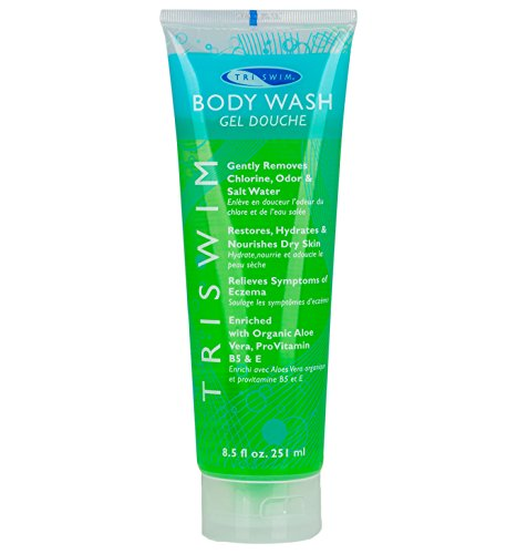 TRISWIM Chlorine Removal Swimmers Body Wash Moisturizing Repairing Skin - And Hair Skin Aqua Care