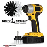 Car, Motorcycle, Truck, Boat - Cleaning Supplies – Drill Brush – Soft White