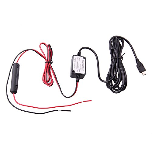 Spy Tec Mini USB Dash Cam 10 Foot Hardwire Kit for A119 A119S G1W G1WS