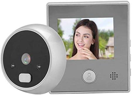 ドアベル、ドアビューア、2.8インチTFTスクリーンディスプレイホームスマートドアベルセキュリティドアカメラホームオフィスアパート