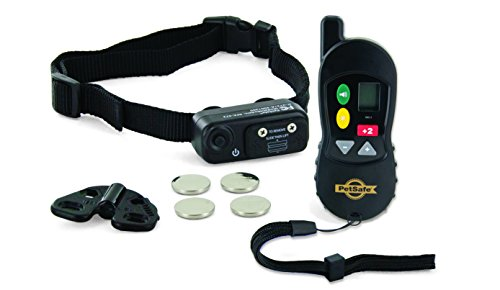 - PetSafe Little Dog Remote Training Collar for Small and Medium Dogs from 8-40 lb. with Tone and Static Stimulation, Waterproof, Up to 100 Yards of Range, Electronic K-9 E-Collar
