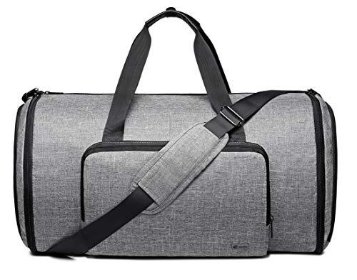 f9674673568e Q-smile Foldable Garment Bag Carry on Duffel Bag Travel Bag for Men   Momen