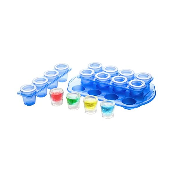 Premier Housewares Ice Shot Glass Mould Set, Blu, 20 x 33 x 6 cm 3 spesavip