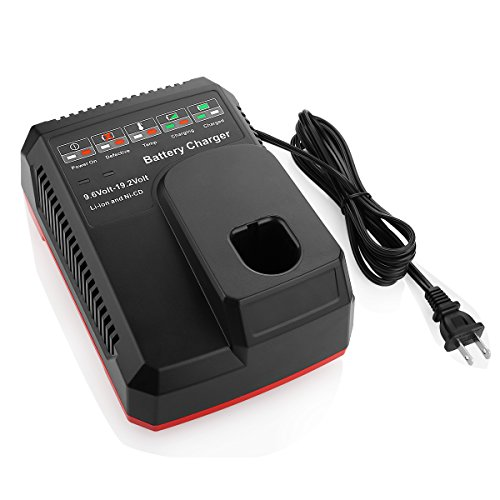 Powilling Replacement Battery Charger for Craftsman C3 9.6Volt and 19.2 Volt Ni-Cd & Lithium-Ion Battery