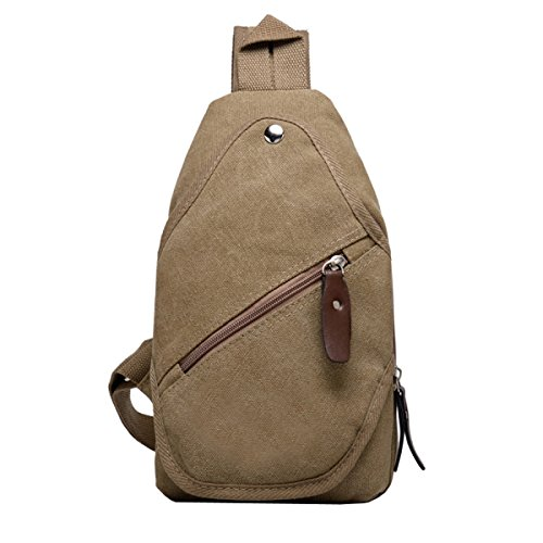 Men 5 Riding Casual Chest Bag A Messenger Small Sportsman Laidaye Shoulder Canvas xqI6PwPS