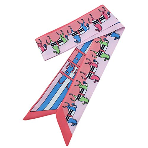 Price comparison product image Shybuy Womens Twill Scarf,  Necktie,  Handbag Handle Ribbon,  Headbands Hairbands Scarf (1.9739.37 in