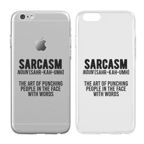 Case for iPhone 7 - Cream Cookies - Ultra Slim Hard Plastic Cover Case - Sarcasm Definition - Sassy - Sassy Quotes - Fun Quote - Funny - Quote - Sassy Quote (Funny Quote Iphone 4 Case)