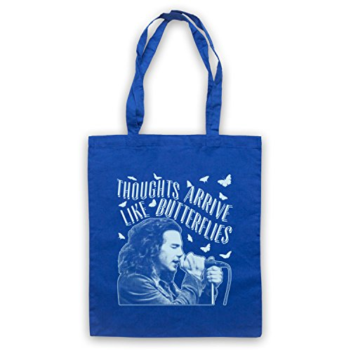 Thoughts by Butterflies Royal Jam Inspired Bag Tote Like Pearl Even Unofficial Arrive Flow Blue qAnwd8X6d7