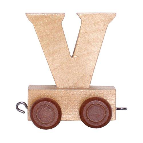 28 opinioni per Lettera in legno vagone trenino per bambini stanzetta lettera V