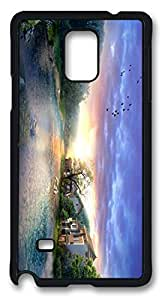 The Human in Harmony With Nature DIY Hard Shell Black Best Fashion Samsung Galaxy Note 4 Case