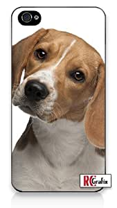 Premium Direct Print Cute Beagle Pet Dog iphone 6 Quality Hard Snap On Case for iphone 6/Apple iphone 6 - AT&T Sprint Verizon - White Case PLUS Bonus RCGRafix The Best Iphone Business Productivity Apps Review Guide