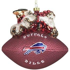 (Buffalo Bills 5 1/2'' Peggy Abrams Glass Football)