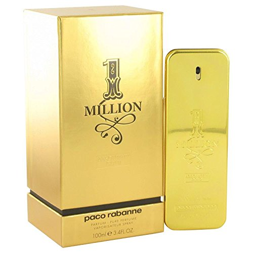 1 Million Absolutely Gold by Paco Rabanne Pure Perfume Spray