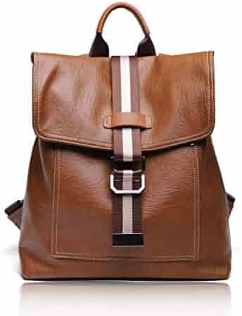 f163345e1999 FIGROL Women Backpack Purse Casual Shoulder Bag Ladies PU Leather Satchel  School Bag Travel Backpack for