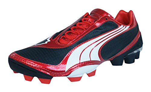 Puma V1.08 FG Boys Football Boots / Cleats Black mGUftYvz11