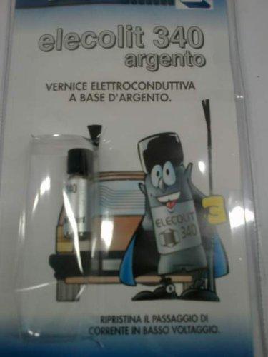 VERNICE ELETTROCONDUTTA A BASE D'ARGENTO RIPRISTINA IL PASSAGGIO DI CORRENTE IN BASSO VOLTAGGIO ELECOLIT