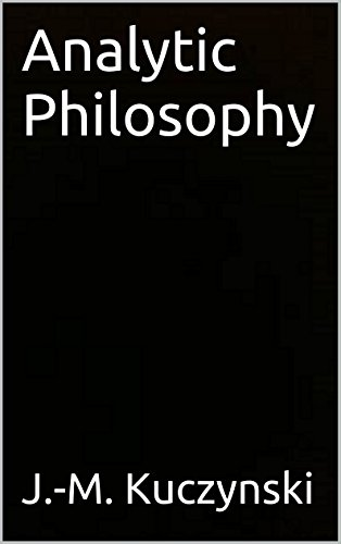 Download Analytic Philosophy Pdf