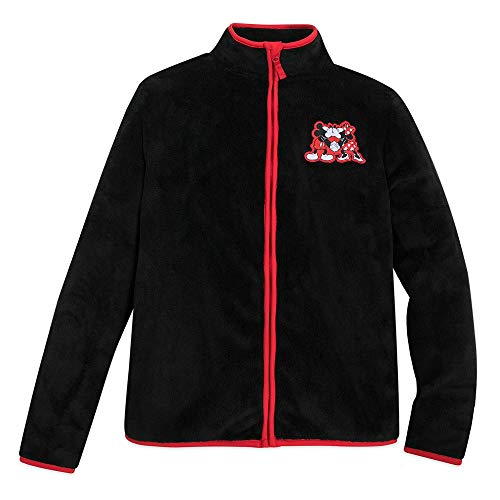 Disney Mickey and Minnie Mouse Zip Fleece Jacket for Adults - Size Ladies XL Multi
