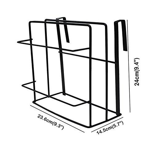 Probrico Multifunctional Kitchen Storage Rack, Cabinet Under Shelf Cutting Board Bakeware Kitchenware Towel Hanging Rack 1 Pack by Probrico