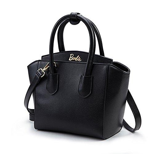 série Porté de Femmes Cuir Fashion Elégant à Sac Couleur de Bandoulière Simple à Shopping Mode pour Pure Barbie Epaule Filles Noir PU la en BBFB153 Main Cool wXBZnq8