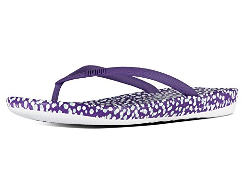 Fitflop Womens Iqushion Flip-flop Super-ergonomiche Bolle Viola