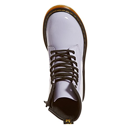 Dr Martens Delaney Boots Purple Heather Patent Lamper H0r7Q