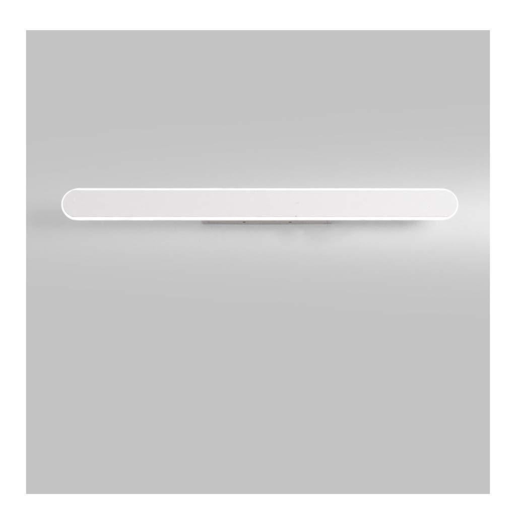 &Spiegelleuchte Spiegel Frontleuchte, Badezimmer LED Schlafzimmer Schminktisch Lampe Einfache Wohnzimmer Aluminium Wandleuchte (Farbe   Neutrales Licht-60cm)