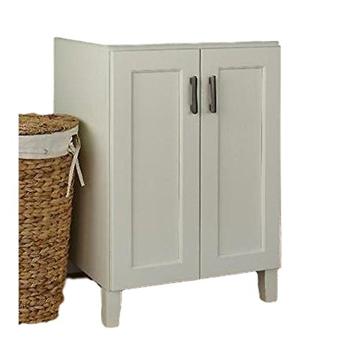 JSI Trenton 2 Door Bathroom Vanity Base Cabinet in Ivory 30